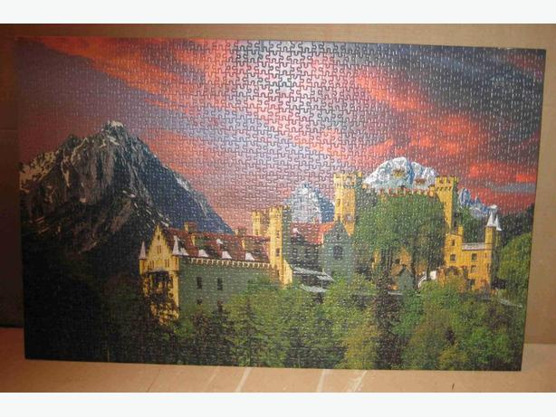 6 Scenic Puzzle Pictures