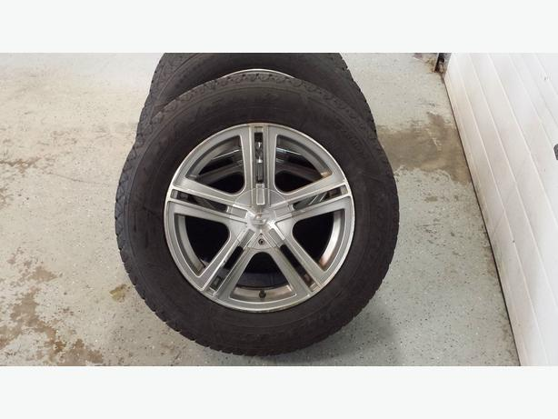 winter tires and aluminum rims for chevy equinox gmc terrain or similar kensington pei. Black Bedroom Furniture Sets. Home Design Ideas