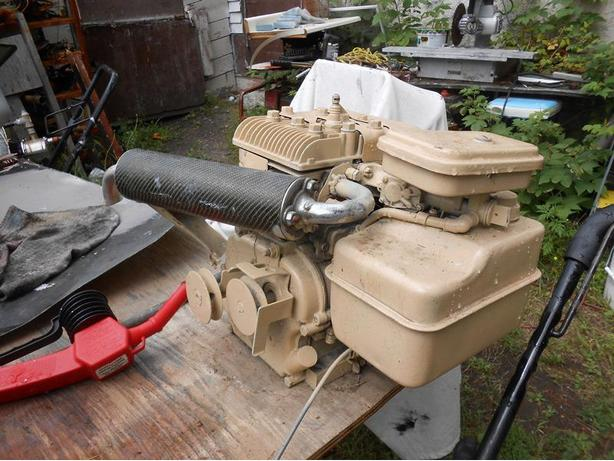 Dual shaft 4.5Hp Briggs & Stratton motor for sale