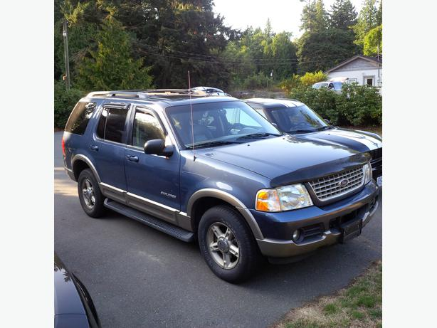 2002 ford explorer eddie bauer xlt v8 4wd 3000 obo saanich victoria. Black Bedroom Furniture Sets. Home Design Ideas