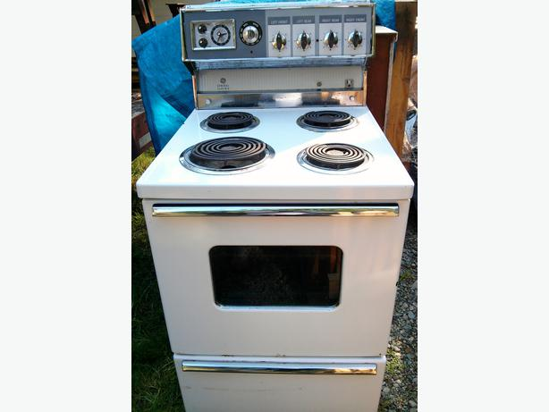Electric Rv Stove And Oven ~ Tiny house cabin electric stove cooktop w oven mill bay