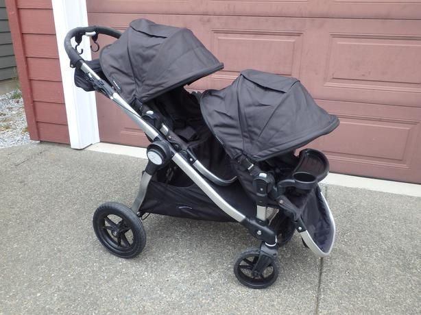 Baby Jogger City Select Double Or Single Black West
