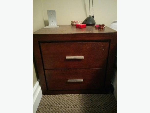 Dresser and side table saanich victoria for Matching bed and dresser