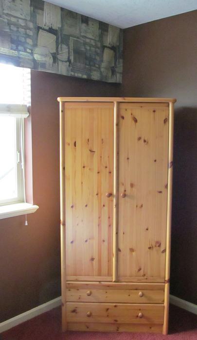 beautiful armoire closet solid wood sooke