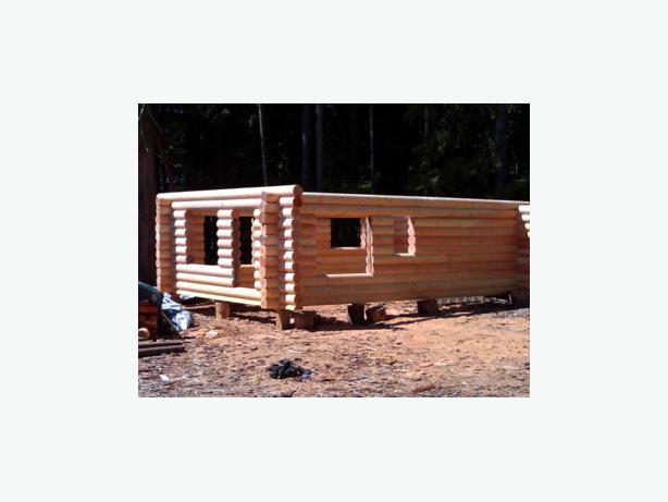 Log House Cabin Kits Outside Nanaimo Nanaimo Mobile