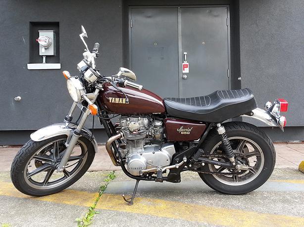 1978 Yamaha Xs650 Outside Victoria Victoria