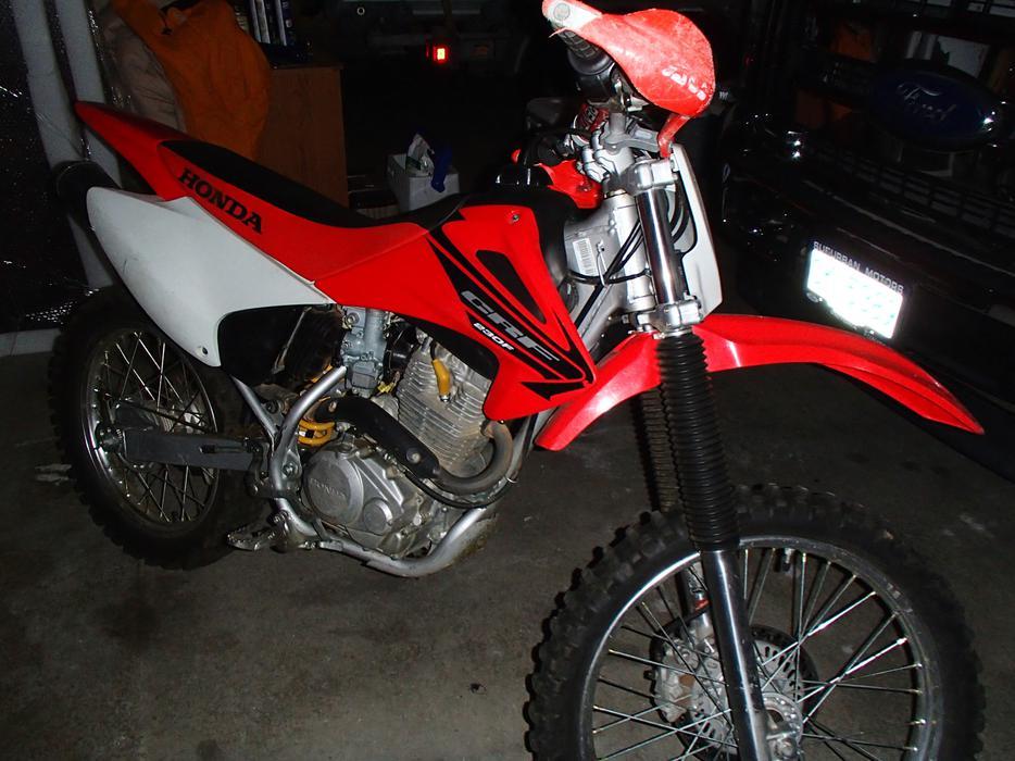 Honda Dirt Bike Edmonton