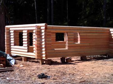 Log Cabin House Kits Outside Victoria Victoria