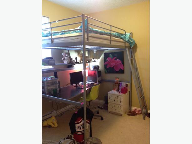 ikea double loft bed instructions