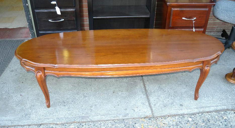 Solid Walnut Coffee Table Loi 39 S Furniture Ltd Saanich Victoria