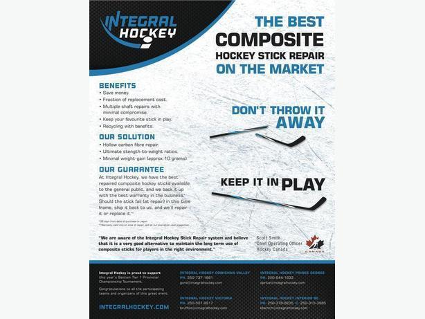 Integral Hockey Stick Repair