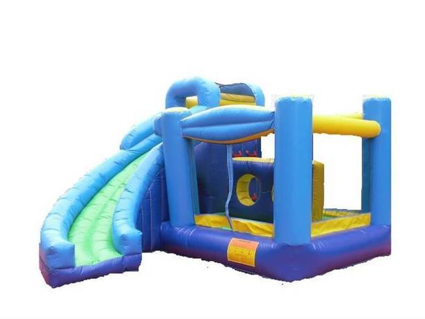 Four Hour Rental! Blue Adventure Castle Bouncer Combo