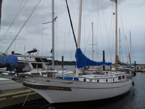 Ct 41 blue water capable cruiser outside victoria victoria for William garden sailboat designs