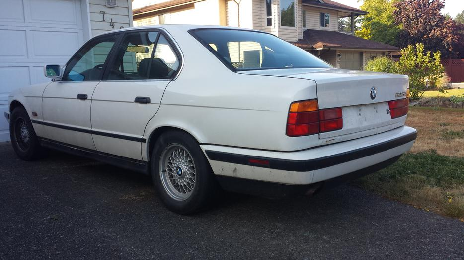 1989 Bmw 525i Parts Or Project Car West Shore Langford
