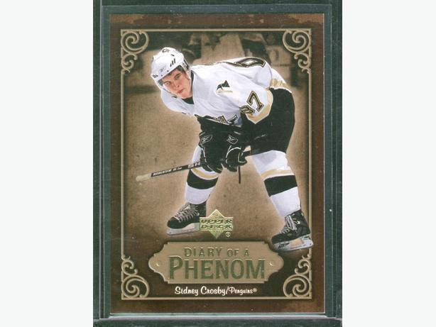 2005/06 Upper Deck Sidney Crosby Diary of a Phenom DP23 Penguins