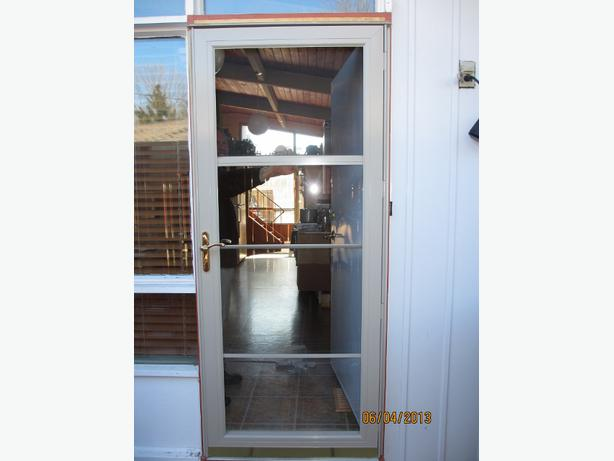 Two Anderson 3000 Series Storm Doors With Screens Nepean