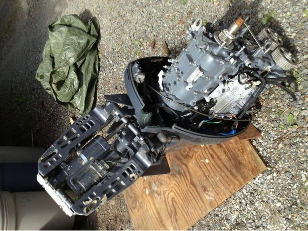 Used 90 hp merc 4 stroke autos post for 90 hp yamaha 4 stroke for sale