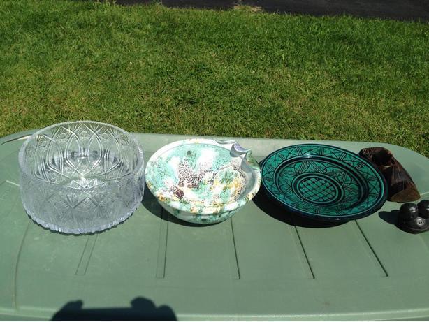 Ceramic/Cristal Bowls for Sale