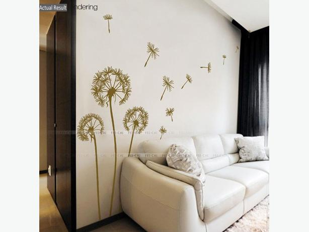 Large Dandelion Wall Sticker Decal For Sale New West