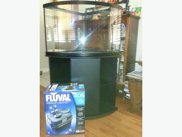 36 Gallon Corner Fish Tank And Stand Moose Jaw Regina