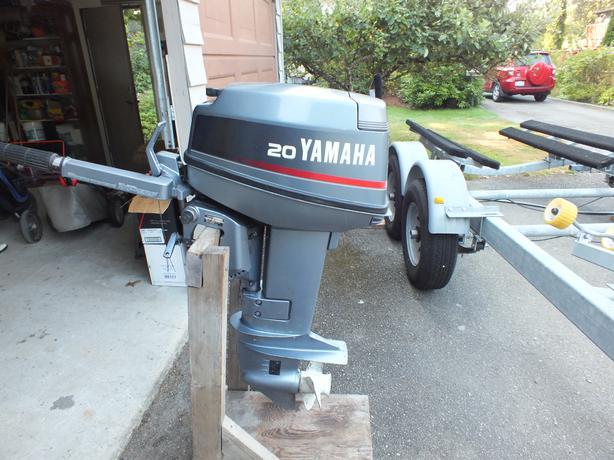 20 hp yamaha outboard port alberni ukee