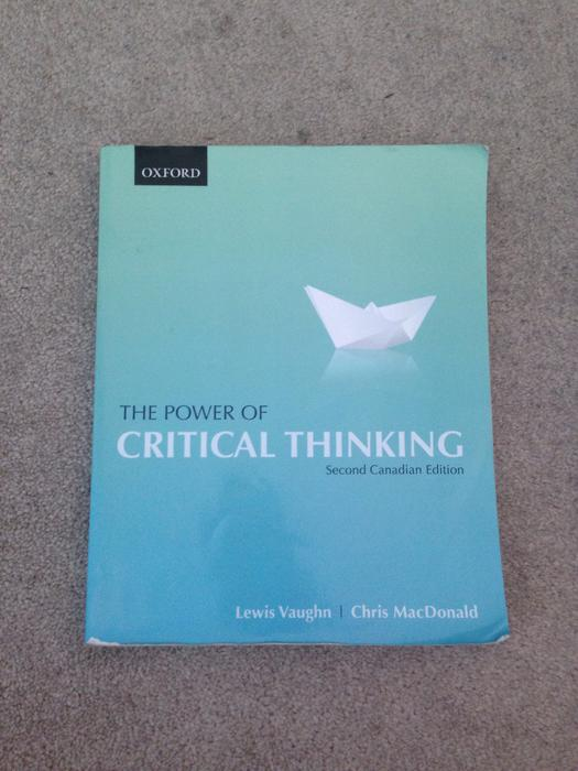 the power of critical thinking website Of course, critical thinking is not a congruent style of thinking that is, each individual has their own style of critical thinking this is not to say that critical thinking does not follow rules or standards, but rather, that each person follows the rules and standards a little differently.