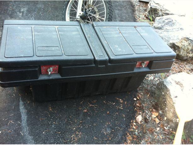 truck cargo box plastic 1