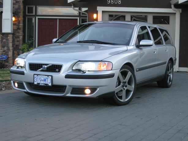 2004 Volvo V70r Rare 300hp Awd Turbo 6 Speed Wagon