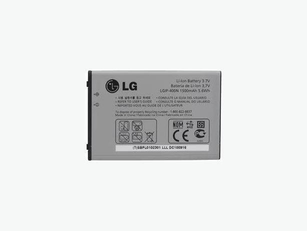 New LGIP-400N Battery for Optimus One P500 Phoenix P505