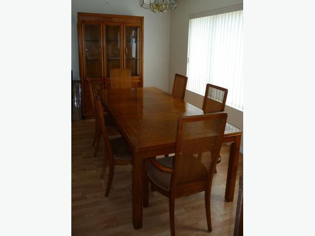 in needed 1 500 dining room chairs and table large and hutch