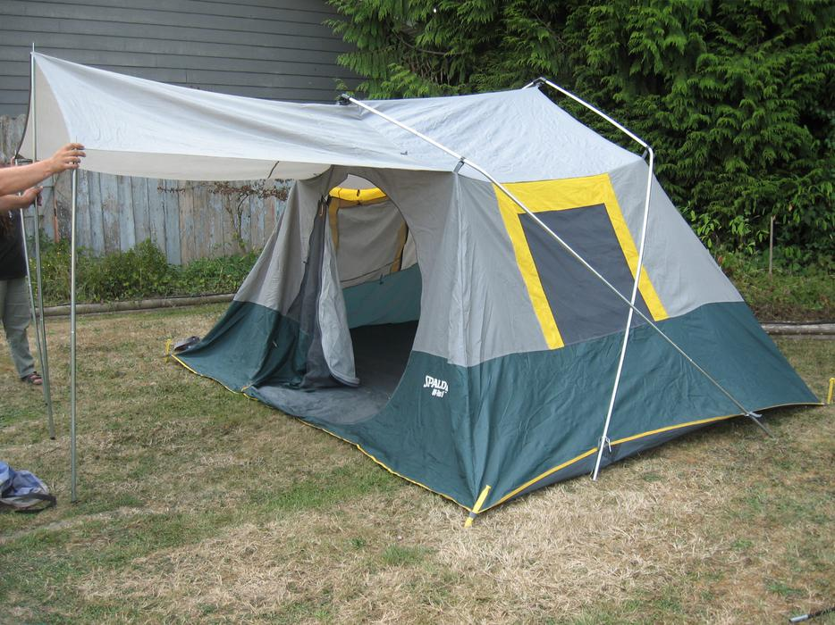 escort uv tex 5 tent setup