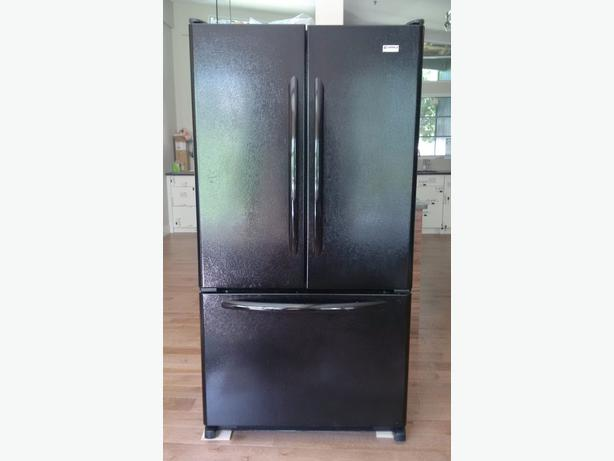 kenmore black refrigerator. refrigerator - kenmore elite, french door, black