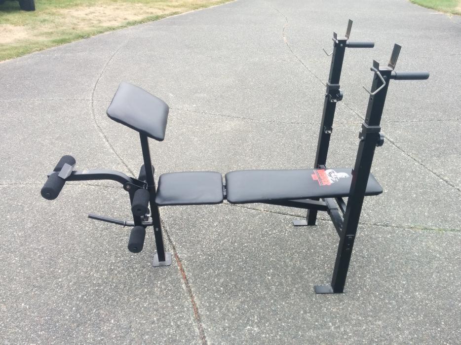 weider training system 146 bench press cbell river