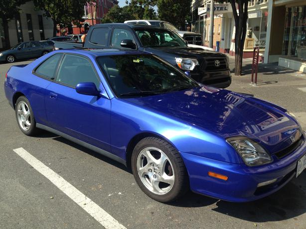 electric blue 2001 honda prelude se vtec 5 speed. Black Bedroom Furniture Sets. Home Design Ideas