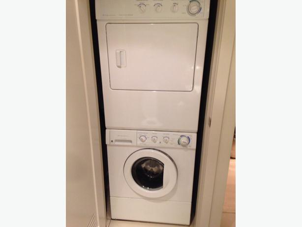 Frigidaire Heavy Duty Stacking Front Load Washer Dryer