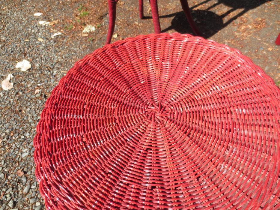 Used Victoria Wicker Furniture