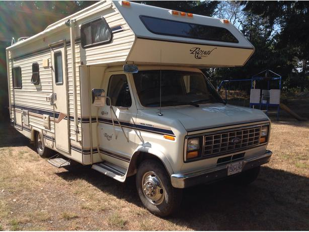 1990 ford crown royal classic motor home south nanaimo for Royal classic house