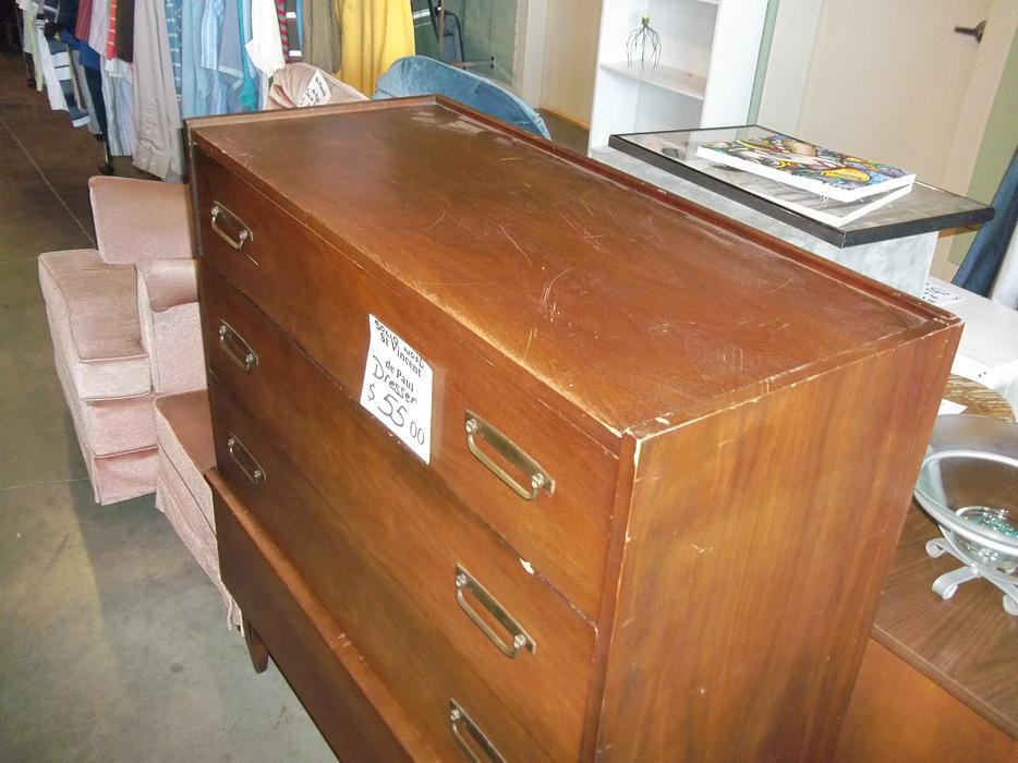 WAS $55 4 Drawer Wood Dresser for sale at St Vincent de ...