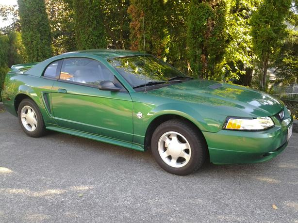 1999 ford mustang 35th anniversary edition central nanaimo parksville qualicum beach. Black Bedroom Furniture Sets. Home Design Ideas