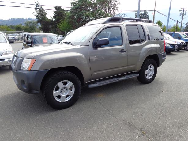 2005 nissan xterra 4x4 pewter outside victoria victoria. Black Bedroom Furniture Sets. Home Design Ideas