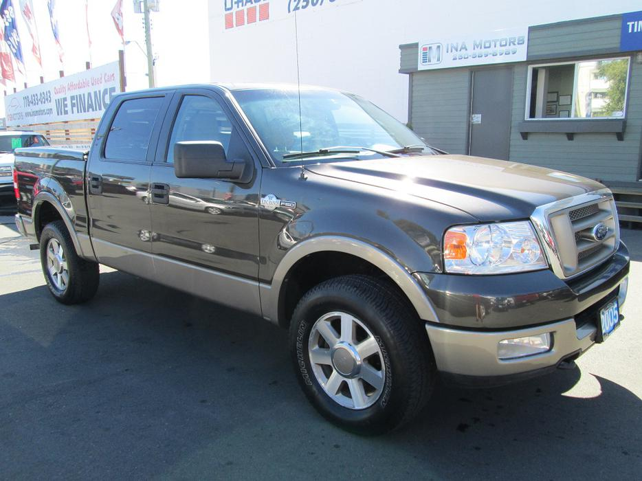 2005 ford f150 king ranch 4x4 local vehicle no. Black Bedroom Furniture Sets. Home Design Ideas