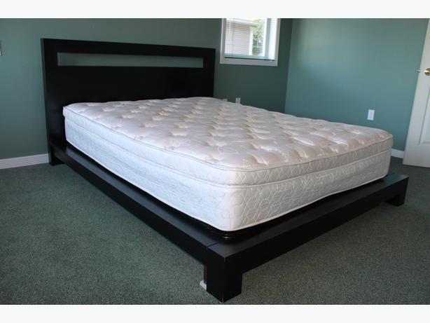 pillow top queen mattress esquimalt view royal victoria
