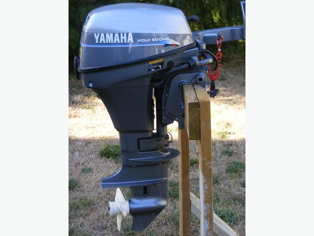 2006 6hp 4 stroke yamaha outboard qualicum parksville for Yamaha 6hp outboard motor