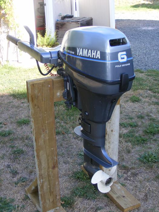2006 6hp 4 stroke yamaha outboard qualicum nanaimo for Yamaha 6hp outboard motor