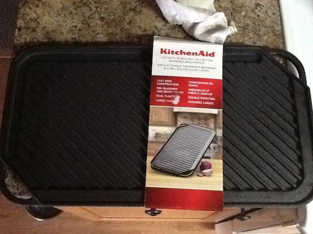 KitchenAid Cast Iron Grill Pan