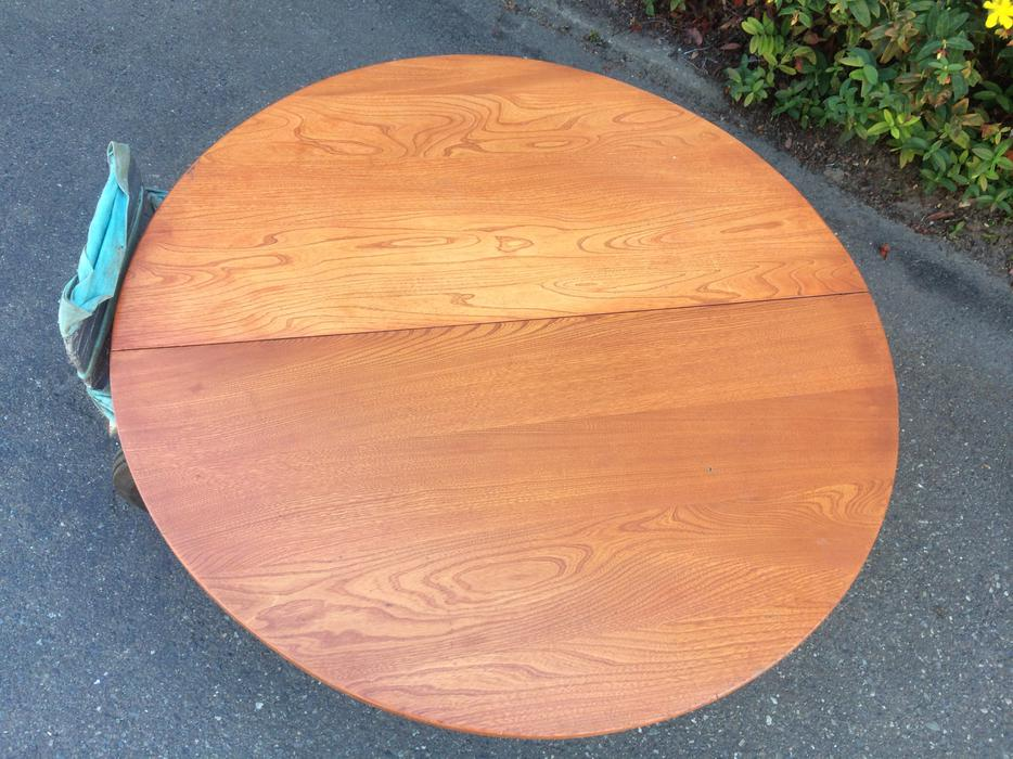 Solid Wood Round Table Top 48 Dia Saanich Victoria Mobile