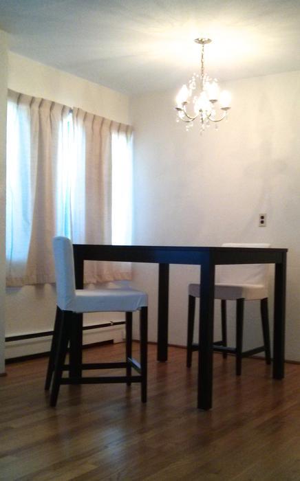 Ikea Bjursta Henriksdal Bar Table And 2 Bar Stools Oak