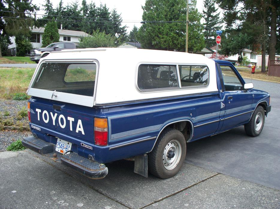 Toyota Grand Forks >> 1985 TOYOTA 1 TON ONE OWNER PICKUP TRUCK North Nanaimo