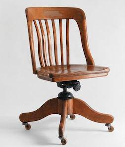 Milwaukee Bankers Chair Vintage Oak North Saanich Sidney Victoria Mobile