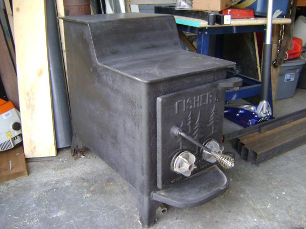 Fisher Wood Stove : Stoves: Fisher Wood Stove